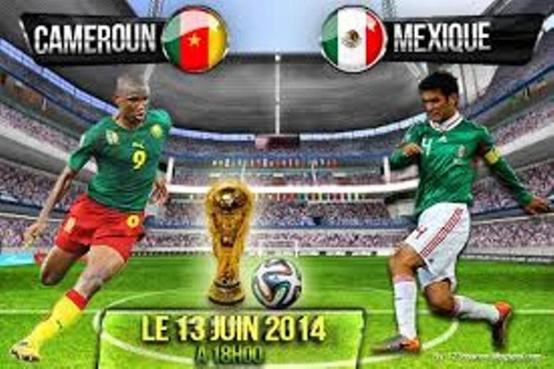 """CDM 2014-Mexique 1-0 Cameroun: Mauvaise opération pour les """"Lions indomptables"""" qui croisent la Croatie mercredi prochain"""