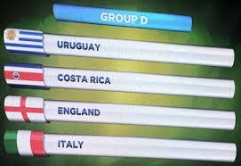 CDM 2014-Groupe D : Résultats et classement