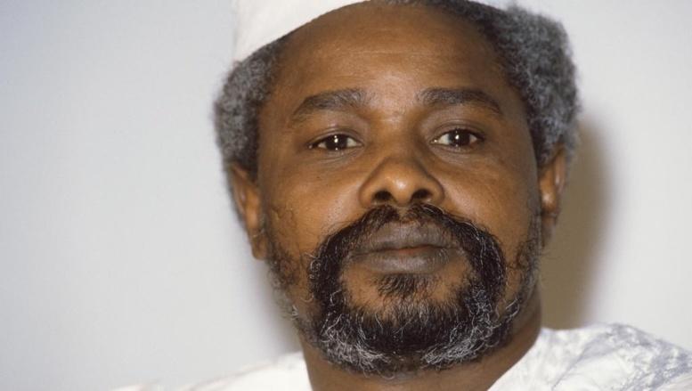 Hissène Habré, ici en janvier 1987 à Ndjamena, a été à la tête du Tchad de 1982 à 1990. AFP PHOTO