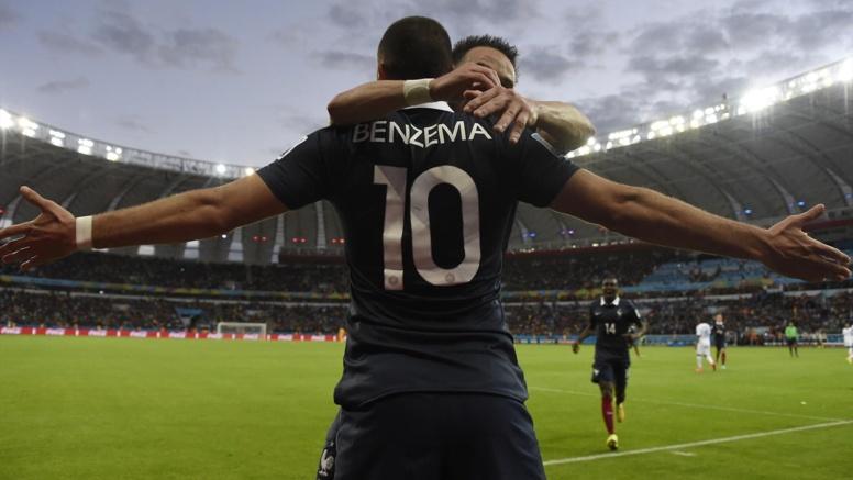 CDM-2014- France-Honduras (3-0): Les Bleus étrillent le Honduras, Benzema rejoint Neymar
