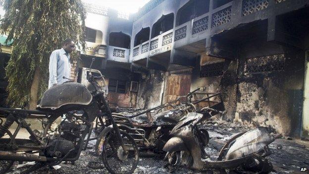 Des dizaines d'habitants de la localité ont été tués.