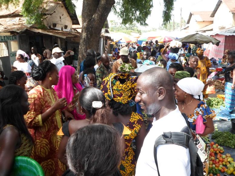 Locales : quand Benoît Sambou liste les besoins des commerçants du marché central de Ziguinchor