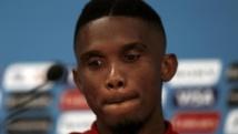 Le Camerounais Samuel Eto'o. REUTERS/Andres Stapff