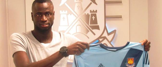 Transfert-West Ham : Cheikhou Kouyaté a signé pour 4 ans