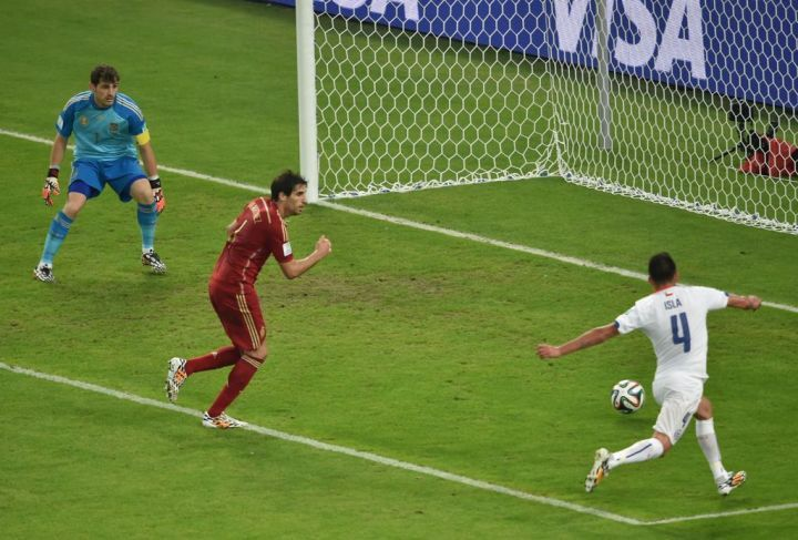 CDM2014 - Record de tweets pour le second but chilien contre Espagne