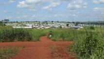 Le camp de Molé, au nord de la RDC, où sont réfugiés des habitants de Bangui qui ont fuit les combats en RCA.