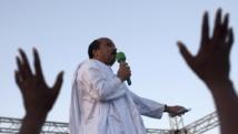 Le président mauritanien sortant Mohamed ould Abdel Aziz a été réelu dès le premier tour de l'élection présidentiel. REUTERS/Joe Penney