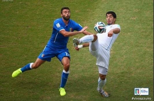 CDM 1-0 contre l'Italie: Godin marque et envoie l'Uruguay en 8es