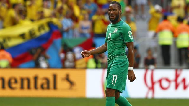 """CDM 2014-Grèce-Côte d'Ivoire (2-1): Les """"Éléphants"""" ratent leur rendez-vous avec l'histoire !"""