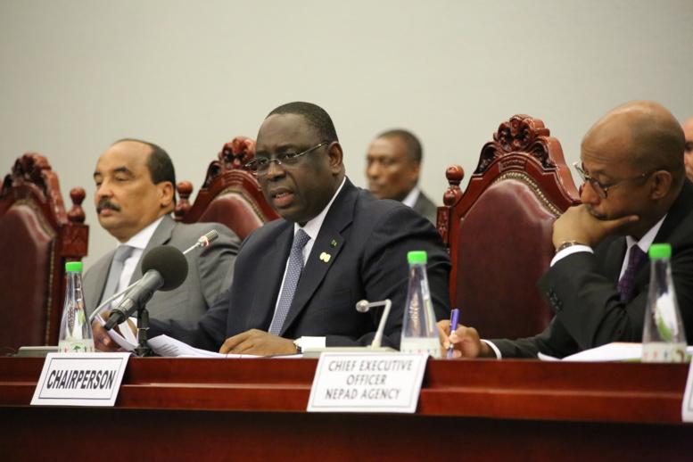 Sommet de l'UA : président Macky Sall félicité pour le financement des infrastructures du Nepad