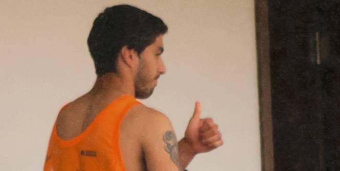 CDM 2014-Uruguay : Suarez est rentré chez lui