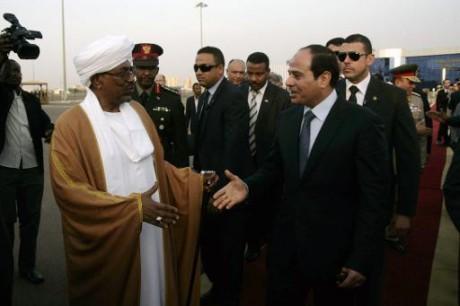Le président égyptien Sissi en visite au Soudan