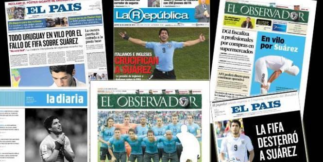 Uruguay- Luis Suarez : une morsure devenue une affaire d'Etat