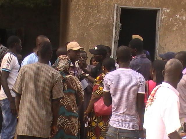 En Images: Fraude/Locales2014 à Grand Yoff: La police interpelle le mandataire de l 'APR