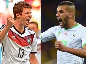 #CDM2014-Allemagne vs Algérie- 8es de Finale-TweetLive: Un contentieux vieux de 32 ans à vider