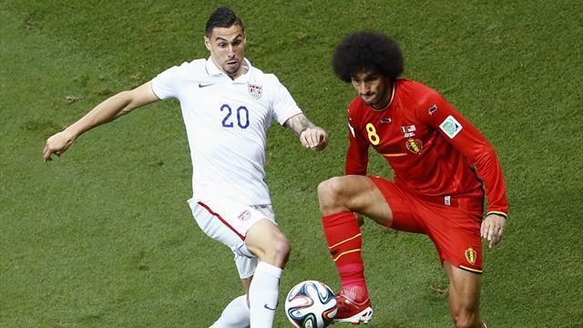 """CDM 2014- Belgique-Etats-Unis- 8es de Finale : 2-1, Les USA héroiques, mais c'est la Belgique qui prend le """"Quarts"""""""