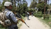 Patrouille des forces spéciales de la police irakienne au nord de Bagdad, le 30 juin 2014. REUTERS/Ahmed Saad