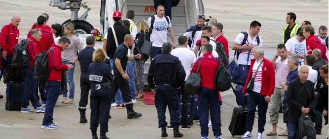 CDM2014 : Les Bleus acclamés à leur retour