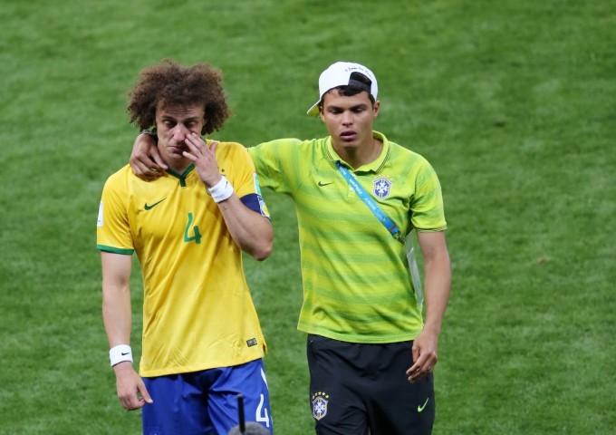 """Brésil – Allemagne – Thiago Silva : """"Je n'ai même plus la force de pleurer"""""""
