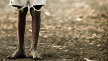 Enfant vivant dans un bidonville kényan. Getty Images/ Ignacio Hennigs