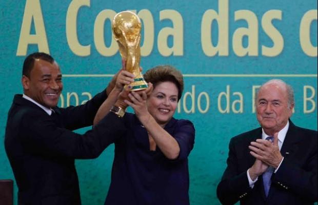 Brésil/Allemagne - (1-7) : La tristesse de Dilma Rousseff