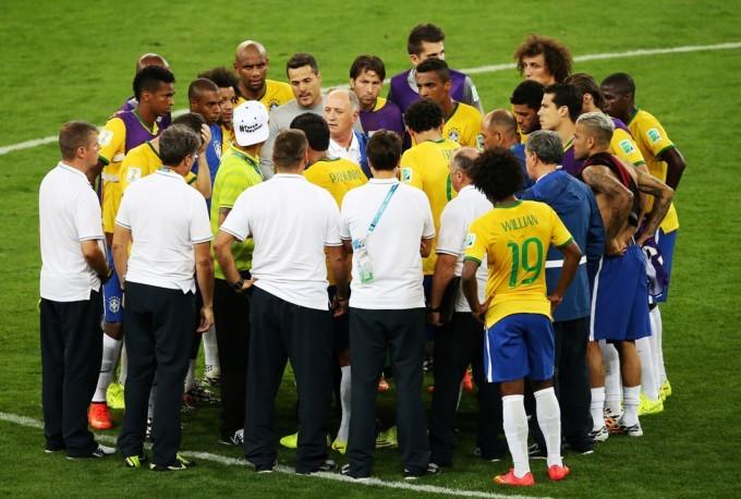 """CDM2014 Brésil – Allemagne : Scolari ne se cache pas et assume """"l'humiliation"""""""