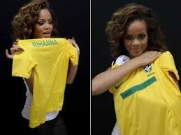 Rihanna moque le Brésil
