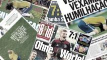 La presse mondiale sous le choc de l'humiliation du Brésil