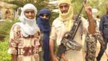 Des combattants touaregs du MNLA dans le nord du Mali. RFI/Moussa Kaka