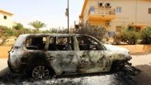 Les Nations unies ont annoncé l'évacuation d'une partie de leur personnel à la suite d'affrontements entre milices rivales dans le quartier de Regata, à l'est de Tripoli, en Libye, le 6 juillet 2014. AFP PHOTO/MAHMUD TURKIA