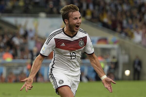 CDM 2014- Finale- Allemagne 1-0 Argentine : Gotze à la 113e et la NationalMannschaft au firmament