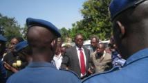 Le président limogé de l'Uprona, Charles Nditije. RFI/Esdras Ndikumana