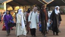 Les prisonniers relâchés par le gouvernement malien avant le début du dialogue d'Alger, le 15 juillet 2014. REUTERS/Adama Diarra