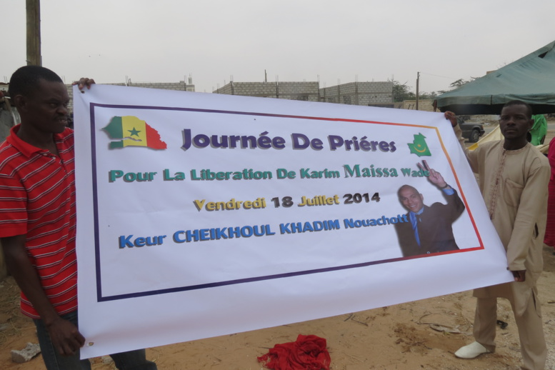 « Le jeudi 17 juillet, nous nous sommes rendus à l'Ambassade du Sénégal en Mauritanie pour des dons mais notre aide a été refusée », MLK