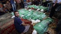 Journée sanglante à Gaza, plus de 100000 Palestiniens déplacés