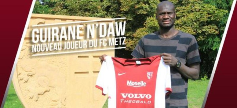 Officiel : Guirane Ndaw s'engage avec le Fc Metz pour 2 ans