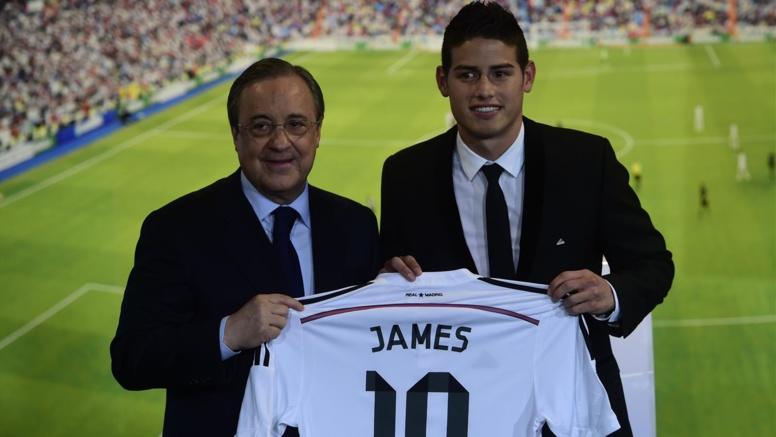 "Transferts : James Rodriguez (Real Madrid) : ""Je jouerai là où Ancelotti me dira de jouer"""