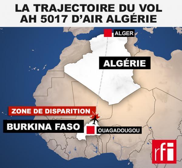 Vol Air Algérie: Serval sur les lieux du crash