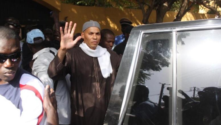 Karim Wade en avril 2013 à Dakar. AFP PHOTO