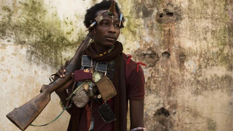 Un combattant anti-balaka à Bangui, le 14 janvier 2014. REUTERS/Siegfried Modola