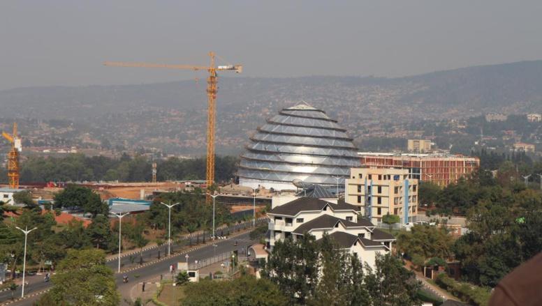 Vue de Kigali, au Rwanda. RFI/Stéphanie Aglietti