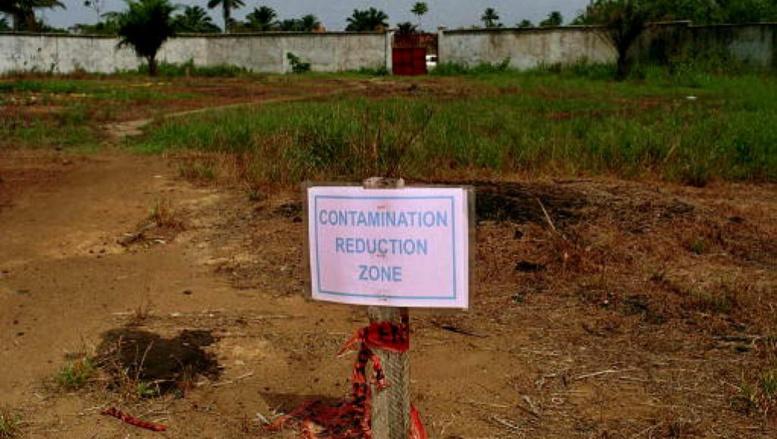 La zone d'Ebubu, dans la région nigériane d'Ogoniland, est polluée par la dispersion du pétrole depuis trente ans. Getty Images/ Newsmakers/ Chris Hondros
