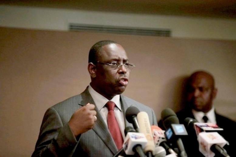 Réduction de son mandat : Macky se fâche aux Etats-Unis
