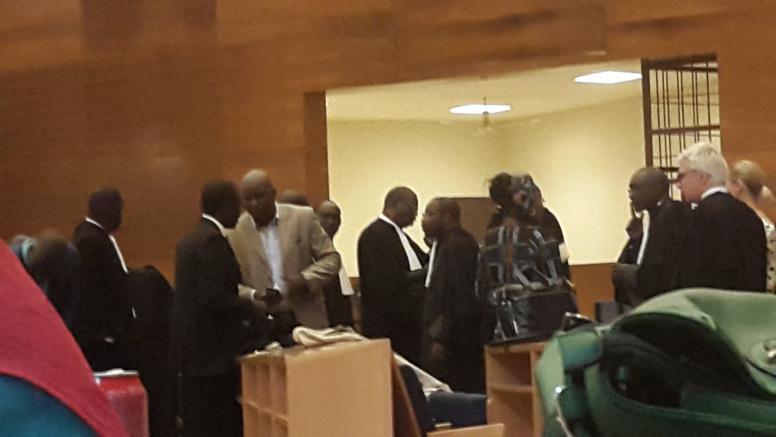les avocats à l'ouverture du procès de Karim Wade et ses supposés complices