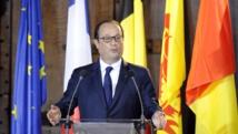 En marge d'une cérémonie pour commémorer la Première Guerre mondiale, à Liège le 4 août, François Hollande avait appelé à «agir» pour mettre fin aux «massacres» à Gaza. REUTERS/Laurent Dubrule