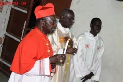 Assomption 2014 : le Cardinal Sarr demande de prier pour un bon hivernage, la paix et la délivrance de la fièvre Ebola