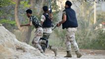 Des miliciens libyens