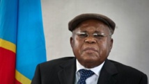 Etienne Tshisekedi, opposant historique à Joseph Kabila, en 2011. AFP PHOTO/GWENN DUBOURTHOUMIEU