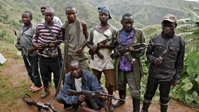 Un groupe de combattants FDLR, en RDC (archives). Reuters