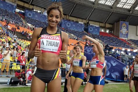Athlé- Nafi Thiam- Médaillée aux championnats d'Europe: «J'ai reçu plein de textos du Sénégal»